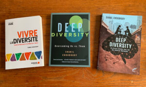 Shakil Choudhury's Deep Diversity is available in French, English, and German.