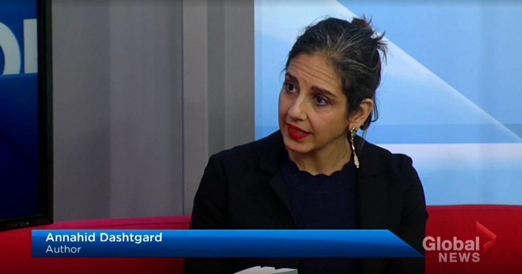 Global News Interview with Annahid Dashtgard